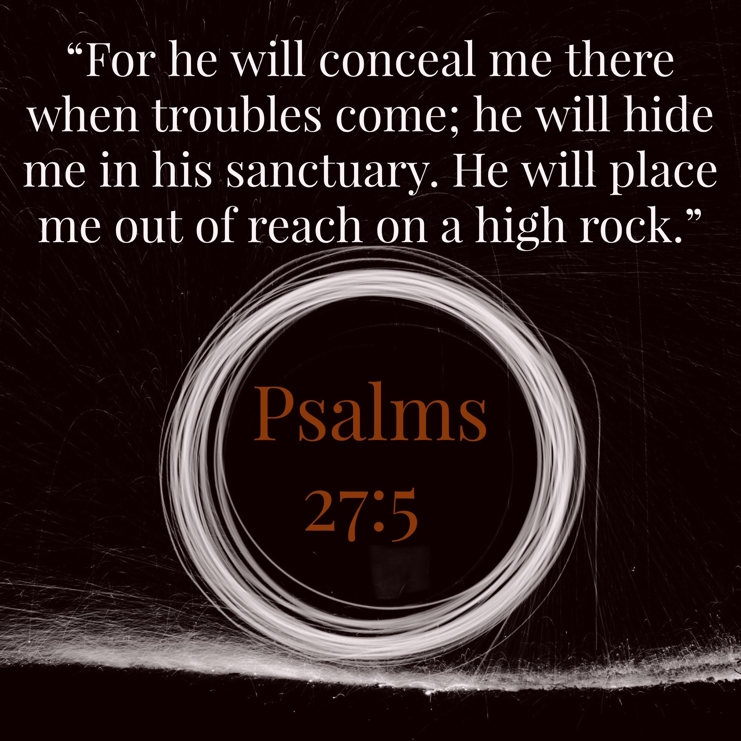 Psalms 27:5 | Ehiyeh-sh'Ehiyeh